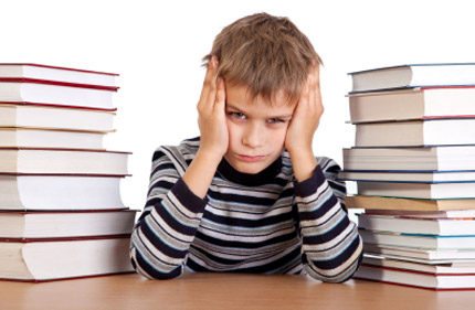 lettura bambino inglese