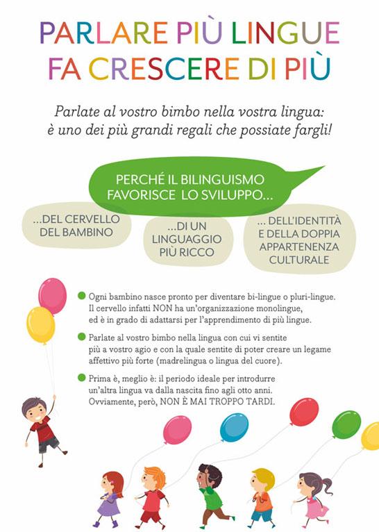Bilinguismo promosso dai pediatri